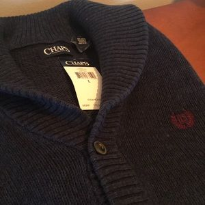 Chaps button up cardigan.